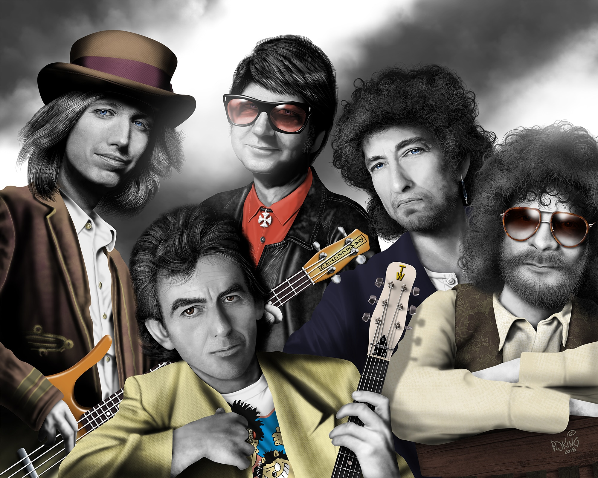 The Traveling Wilburys: Биография группы