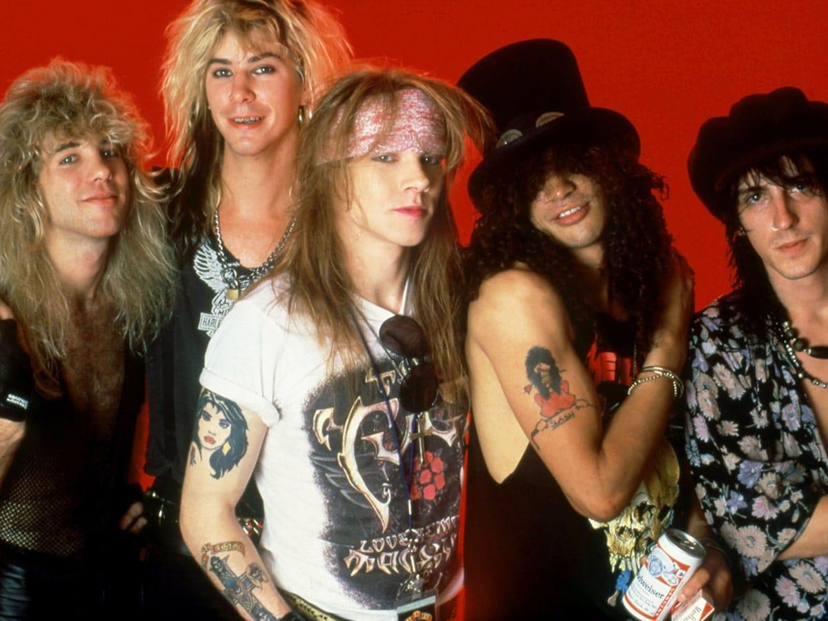 Guns N' Roses (Ганз-Н-роузиз): Биография группы