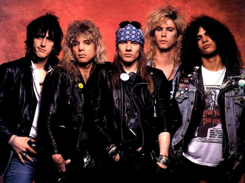 Guns N' Roses (Ганз-Н-ро́узиз): Биография группы